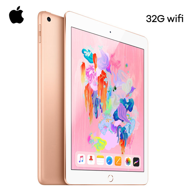 Apple New iPad 9.7 Inch 2018 Model Retina Display 32G WIFI Supporting Apple Pencil With A10 Fusion Chip IOS IPS Screen Original