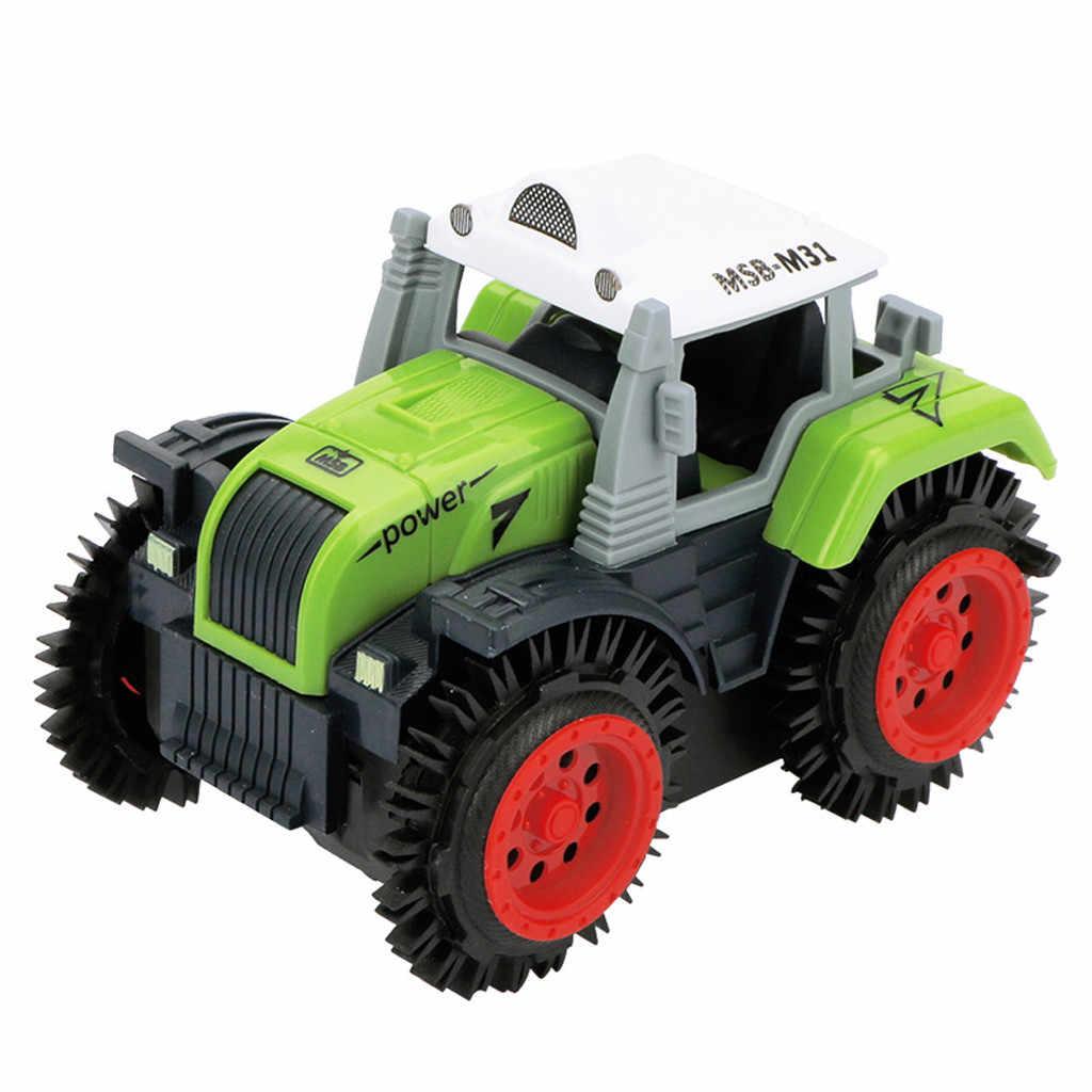 Crianças flip carro de brinquedo elétrico dublê carro (agricultor) criança simulação caminhão basculante 4 roda drive jeep carro de brinquedo elétrico 2019 novo