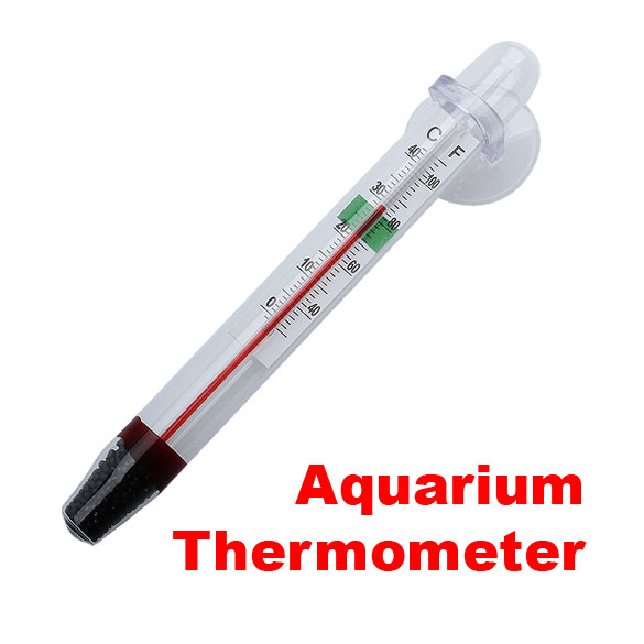 Glass digital aquarium thermometer fish tank float water for Fish tank temperature