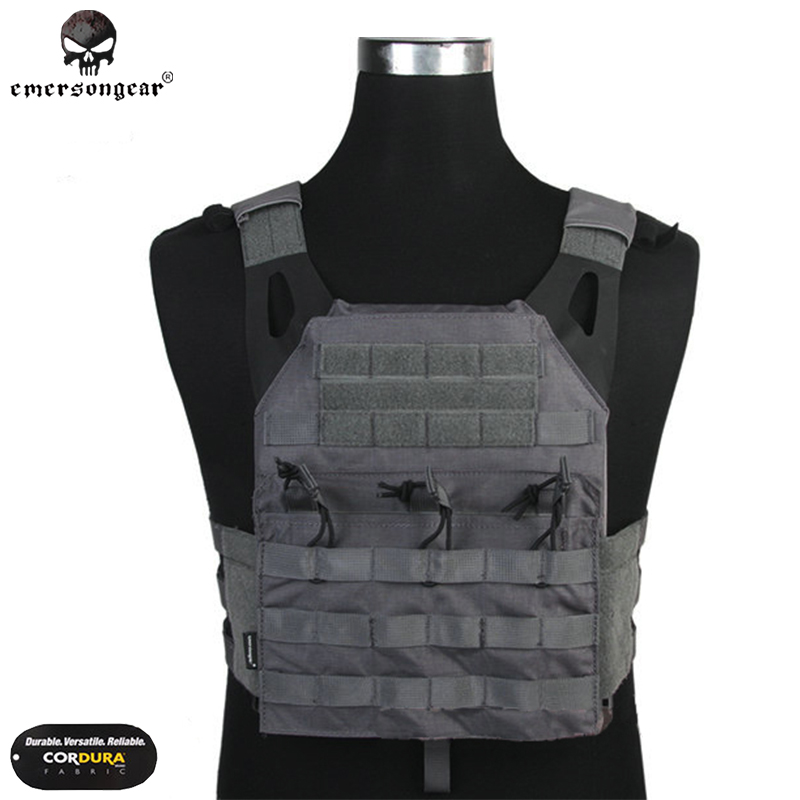 Emerson Jpc Vest Physique Armor Jumper Plate Service Emersongear Camouflage Molle Searching Paintball Army 7344