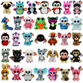 "TY Beanie Boos Original Teddies 15cm Plush Teddy Collectible Soft Toys Big Eyes Plush Toy Doll Husky Cat Owl Unicorn 6"" 15 cm"