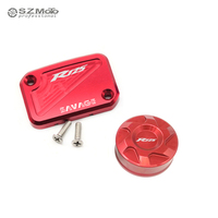 For YAMAHA YZF R125 YZFR125 YZF R125 2008 2011 Front Rear Brake Reservoir Cover Motorcycle Master Cylinder Oil Fluid Cap
