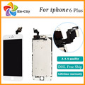 10 ШТ./ЛОТ AAA 6 + ЖК-Дисплей Замена Частей для iPhone 6 плюс 5.5 ''Сенсорный ЖК-Экран с Дигитайзер Ассамблеи Бесплатный DHL корабль