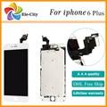 10 unids/lote aaa 6 + pantalla lcd pieza de recambio para iphone 6 plus 5.5 ''con Pantalla Táctil LCD Digitalizador Asamblea Envío Libre de DHL nave