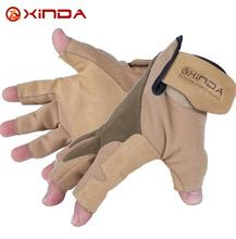 XINDA Downhill font b Glove b font Rescue Hand Rope Cords Reduction Outdoor Half Refers To
