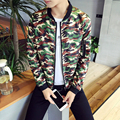 Camouflage Jacket Men Autumn New 2016 Slim Fit Mens Jackets and Coats Long Sleeve Casual Menswear Man Coat Cool Men Clothes