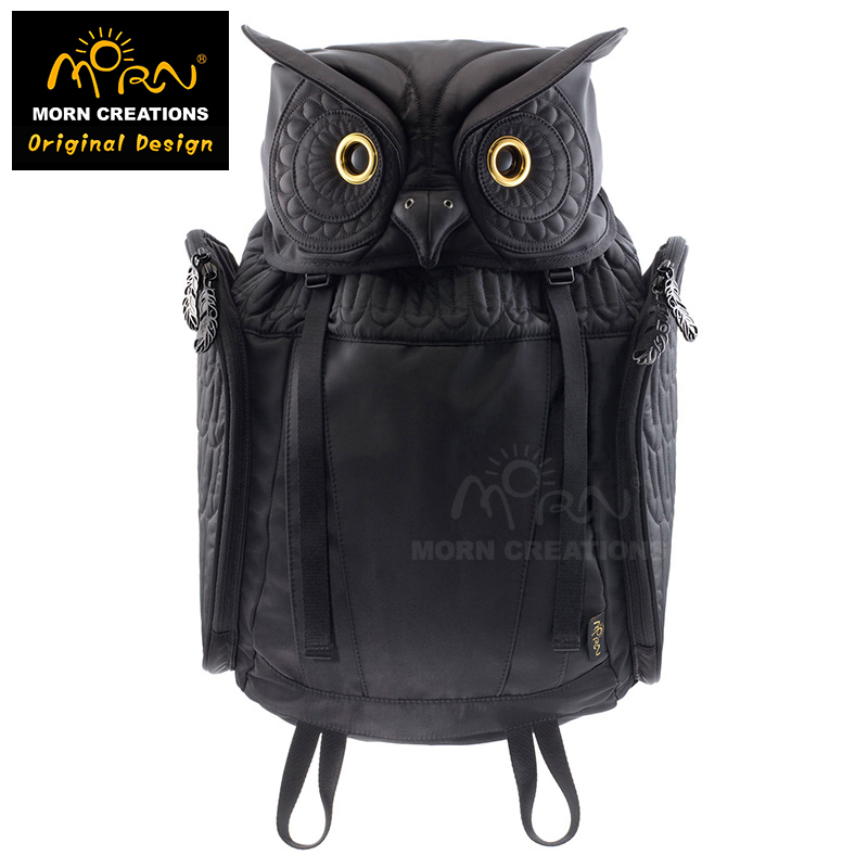 Original Design Morn Creations Genuine Hardcover Edition Owl Backpack Fashion Men Backpack battery protection board 15a precise for 2s 7 2v li ion batteries lithium batteries