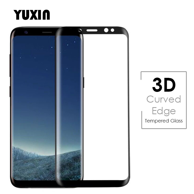 NENUKA 3D Curved Full Screen Cover Tempered Glass For Samsung Galaxy S8 Plus Note 8 S7 edge S6 Plus Film Safe Guard