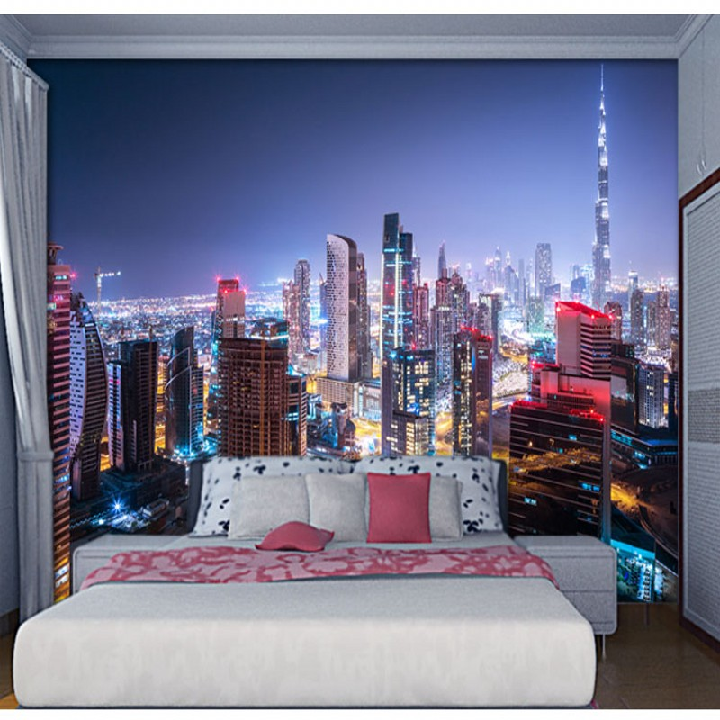 Large 3d European Pearl And Rose Jewelry Tv Background: Bright Stars Photo Wallpaper Fascinating Galaxy Silk Wall