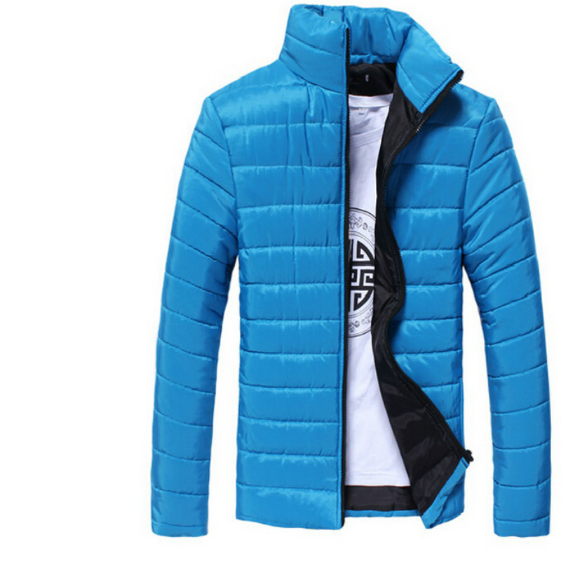 6 Color Brand Winter Jacket Men 2016 Fashion Candy color ...