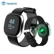 Teamyo P2 Smart Band Wathes крови Давление фитнес-трекер активности монитор сердечного ритма Счетчик шагов умный Браслет Водонепроницаемый