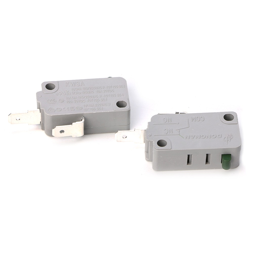 5Pcs Universal Electrical appliances MicroSwitch snap switch KW3A 16A 125-250V