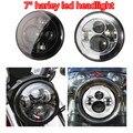 """Harley H4 H13 Arnês de alta qualidade 7 """"Projetor Motocicleta Daymaker daytime running luz LED Farol Lâmpada de Cabeça Auto peças"""