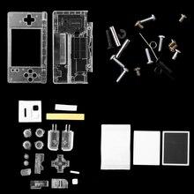 Набор инструментов для ремонта корпуса OOTDTY, полный комплект запасных частей для Nintendo DS Lite NDSL