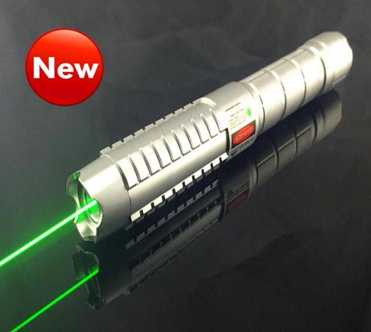 Newest original laser pointer with 5 star cap real green lase pen Focusable burning match long range ray 10000m