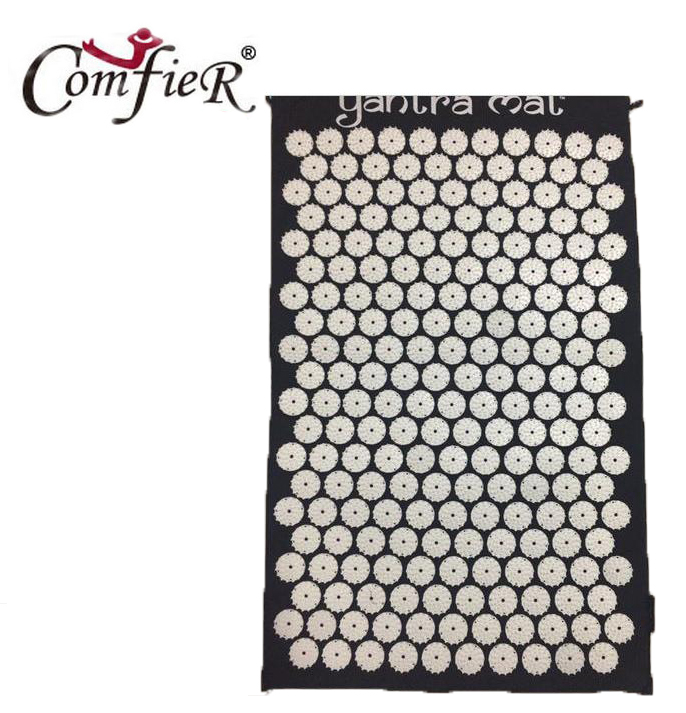 Massage Relaxation Health Care Massager cushion Acupressure Mat Relieve Stress Pain Acupuncture Yoga Mat 72*43cm free shipping massager body massage cushion back neck care acupressure shiatsu massager relieve pain physiotherapy equipment