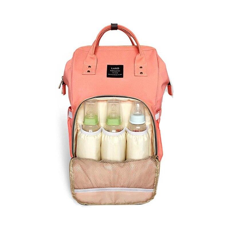 Mode Mumie Mutterschaft Wickeltasche Marke Große Kapazität Baby Tasche Reiserucksack Designer Pflege Tasche für Babypflege