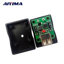 AIYIMA 5Pcs Solar Panel Battery DIY 5V6V Charging Po Folding Pack Mobile Power USB Regulator Charger