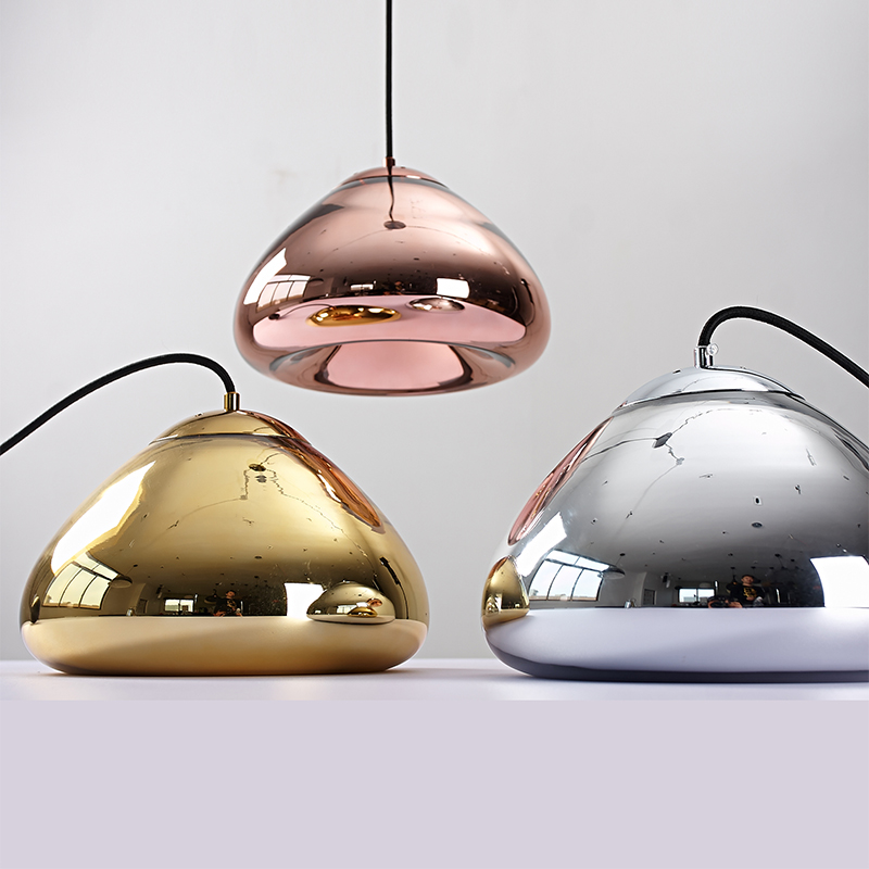 modern Pendant lights for dining room kitchen Coffee suspension luminaire hanging lamp pendente de teto lighting fixtures 40cm acrylic round hanging modern led pendant light lamp for dining living room lighting lustres de sala teto