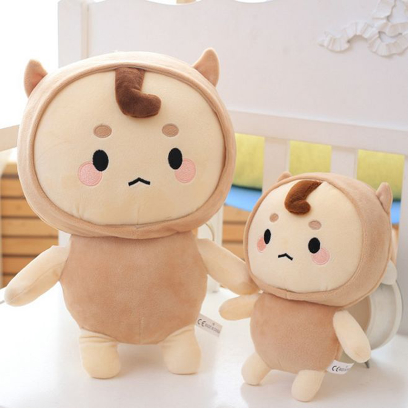 20-55cm God Alone and Brilliant Korea Goblin Plush Toys Doll Soft Cute Animal Stuffed Ghosts Doll Toys Kids Birthday Gift Toy