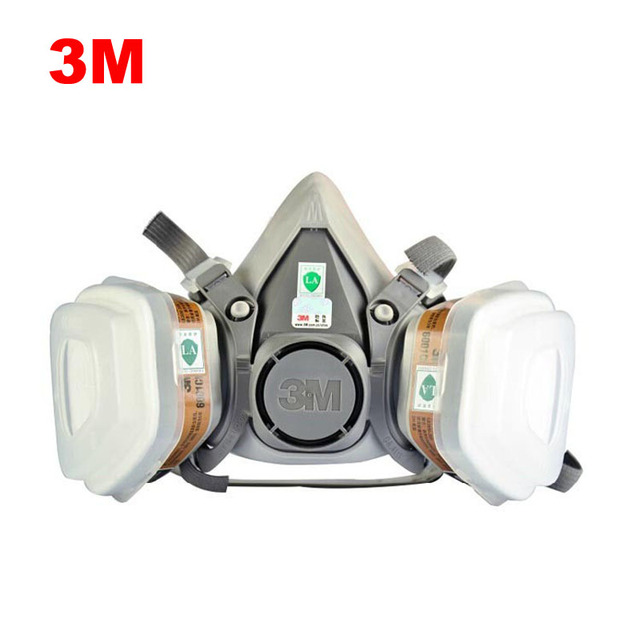 free shipping 3m6200respirator face mask painted activated carbon dust-tight dust smoke-proof aa