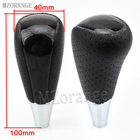 MZORANGE AT Mahogany Automatic Gear Shift Knob For TOYOTA AURIS AVENSIS For RAV4 YARIS CAMRY HILUX For LEXUS ALTIS CELICA SCION