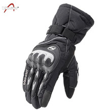 VEMAR Motorcycle Gloves Touch Screen Waterproof Motocross Full Finger Long Cycling Racing Guantes Moto Luvas цены онлайн