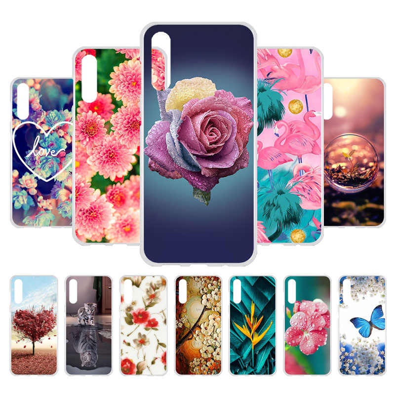 Case For Samsung A50 Case Silicone Soft Back Cover For Samsung A50 A30 A40 A10 A70 Cases GalaxyA50 A 50 2019 Phone Bumper Shell