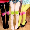 New High Quality Children GirlS Tights Velvet Candy Colors Cute Cat Fish Tights Baby girl Pantyhose Stockings Dance Stockings