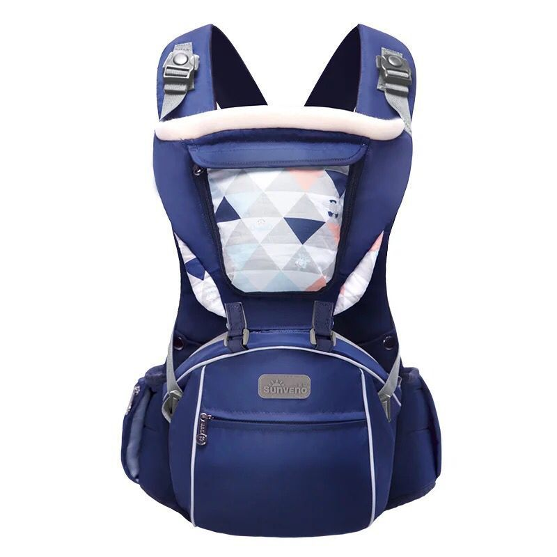 2018 SUNVENO Designer Baby Carrier Infant Toddler Front Facing Carrier Sling Kids Kangaroo Hipseat Baby Care 0-36Months M55 2016 hot portable baby carrier re hold infant backpack kangaroo toddler sling mochila portabebe baby suspenders for newborn