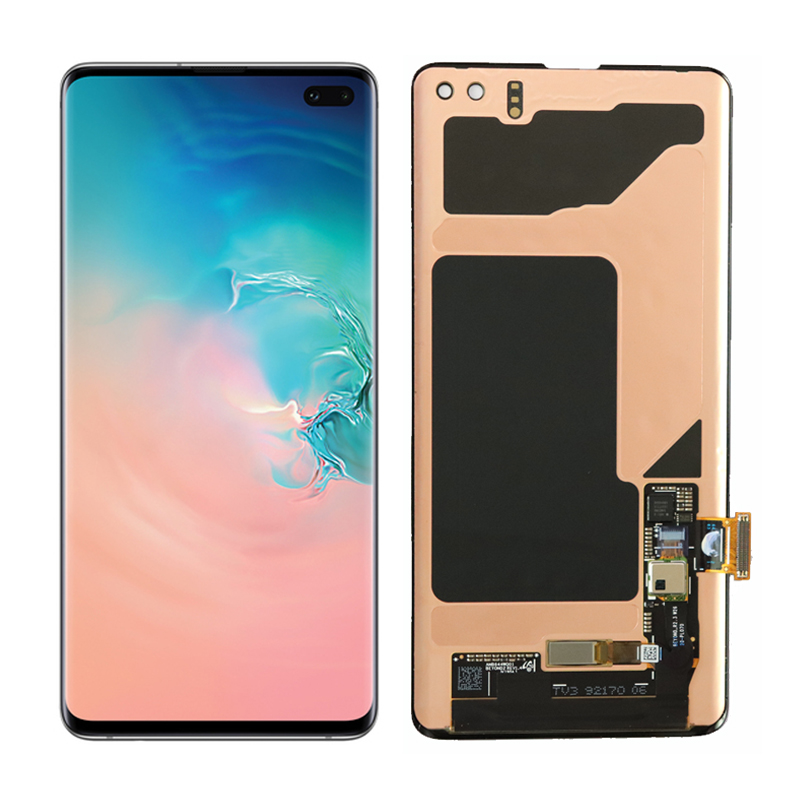 The 1440 3040 LCD For SAMSUNG Galaxy S10E S10 G9730 Display S10 Plus G9750 Touch Screen The 1440*3040 LCD For SAMSUNG Galaxy S10E S10 G9730 Display S10+ Plus G9750 Touch Screen Digitizer Assembly With Service Pack