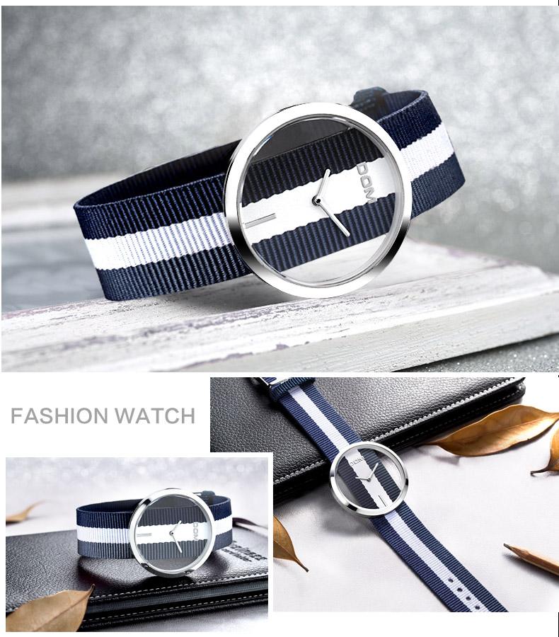 DOM: Reloj de pulsera de lujo para mujer 21