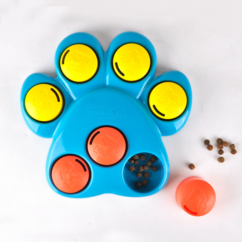 Dog Toys Interactive Pet Dog Training Toys Roller Paw Puzzle paw hide Combination of food and games