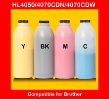 compatible for brother HL4050 4070CDN 4070CDW refill color toner powder high quality color toner cartridge powder free shipping