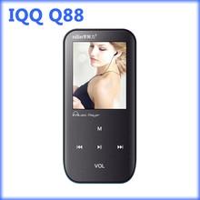 IQQ Q88 lossless reproductor de mp3 del deporte con alta calidad grabadora Apoyo reproductor de música mp3 radio fm Ranura Para Tarjeta Micro DEL TF 16/32/64/128 GB
