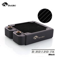 Bykski 120mm Single Row Radiator Standard Water Cooling Radiators Compatible pc 12cm Fan about 40mm thick BY RD120 TK
