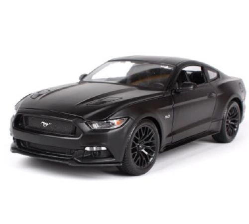 Maisto 1 18 2015 Ford Mustang GT Diecast Model Sports Racing Car Vehicle Black NEW IN