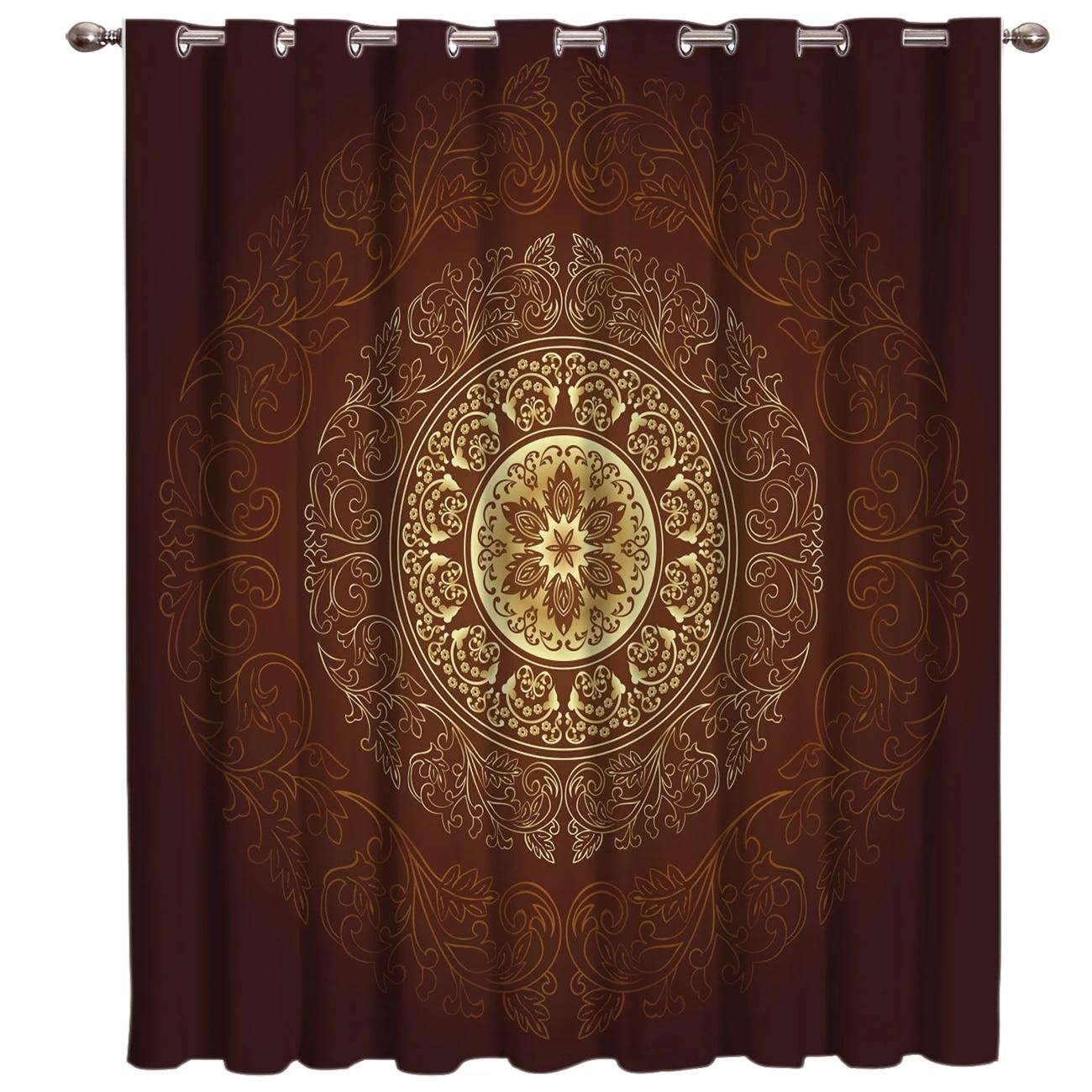 retro arab window treatments curtains valance living room curtain rod bedroom curtains kitchen fabric indoor decor print