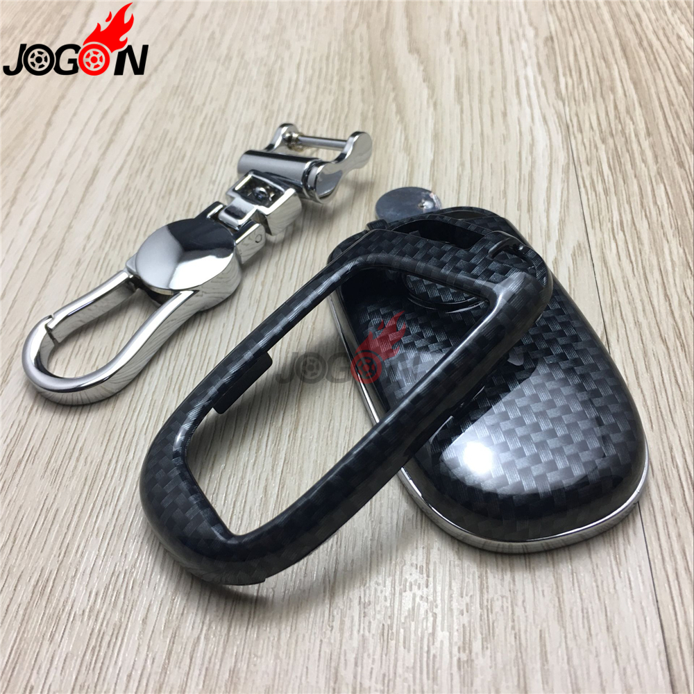 Abs Smart Remote Key Case Ring Shell Holder Cover For: Aliexpress.com : Buy Carbon Fiber Look Smart Remote Key