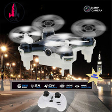 Горячие продажи мини Wi-Fi Радиоуправляемый Дрон RC101W 2.4 г 6 AXIS FPV смартфон Настоящее Time Flyin G Камера вертолет Квадрокоптеры с 0.3MP Камера