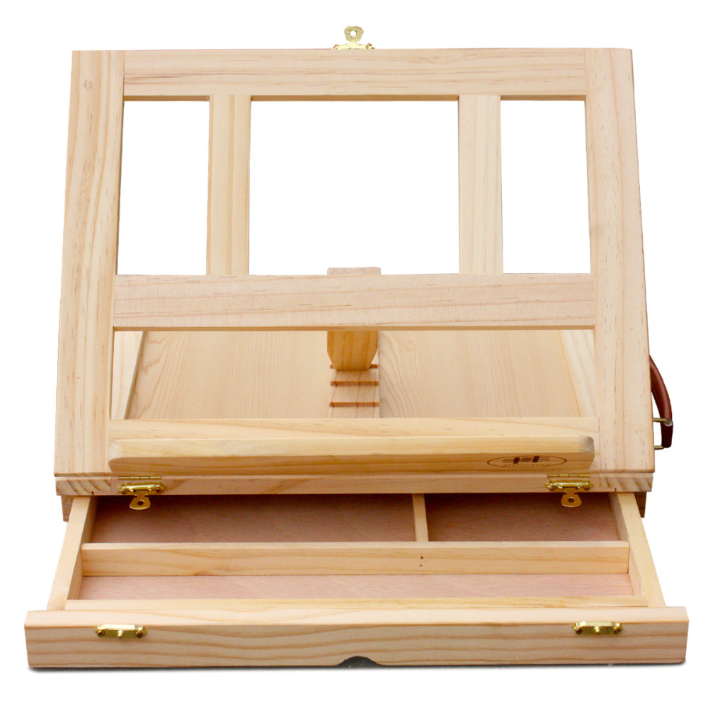 Transon fine wood table easel for painting, artist folding mini wood easel, display easel painting easel kitmmm559unv55400 value kit post it easel pads self stick easel pads mmm559 and universal economy woodcase pencil unv55400