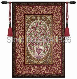 high quality home decoration Phoenix 134 93cm countless rich fruits landscape mural wall hanging tapestry pt
