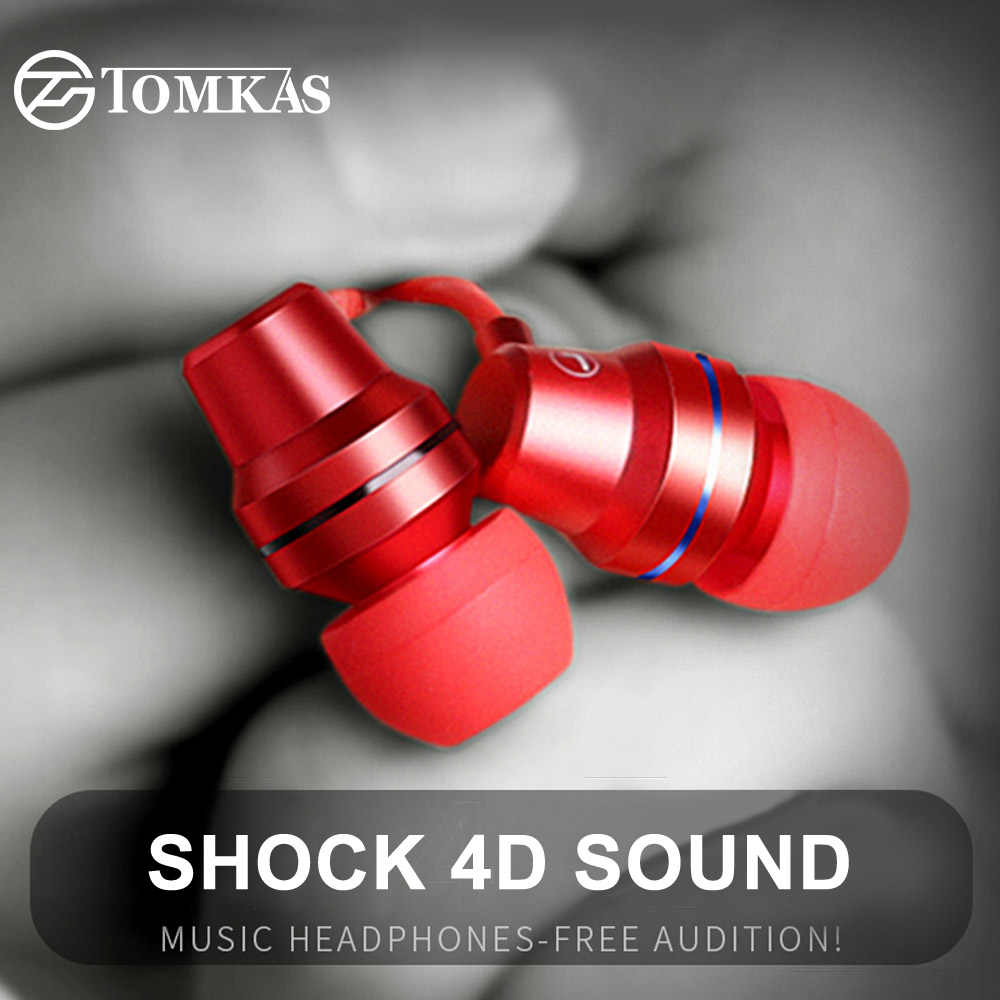 hight resolution of tomkas tpe line earphone for phone 5 color in ear earphones and headphone heavy bass