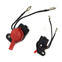 Mayitr ON/OFF Engine Stop Switch Assembly Motorcycle Replacement Parts Black & Red New
