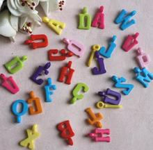 3000pcs 17mm Beautiful Acrylic Mixed Letter Beads With Hole For Hair Peice Tiaras Jewelry  Scrapbooking Craft DIY
