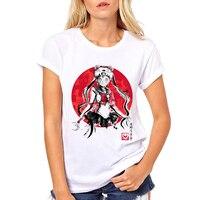 Sailor Moon Shirt Summer Short Sleeve Casual Comfortable Women S T Shirt Cool Punk Tops Tee