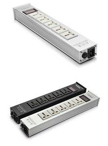 Image 5 - דפוס חדש LED באיכות גבוהה Advanced Audio הכוח מטהר מסנן AC שקע חשמל אוניברסלי כוח מסנן