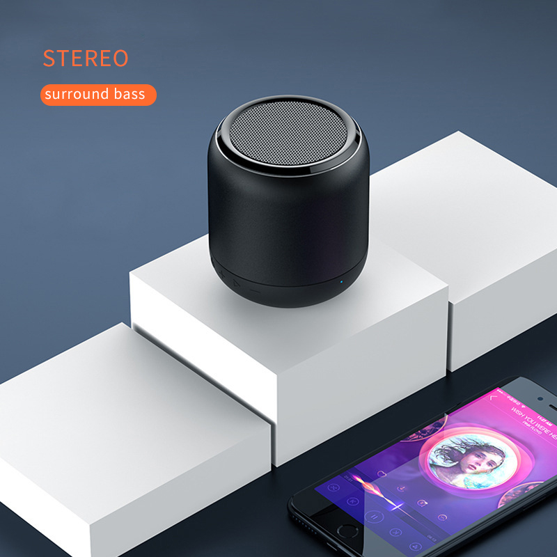 Portable Mini Bluetooth Speaker Wireless Loudspeaker USB AUX TF Music Subwoofer Music Surround Outdoor Handsfree Speaker K13-in Portable Speakers from Consumer Electronics    1