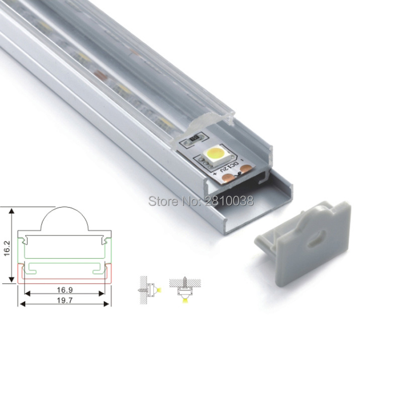 20 X 1M Sets/Lot 45 degree Angle aluminum profile for led light bar and 6063 corner channel alu for ceiling lamps