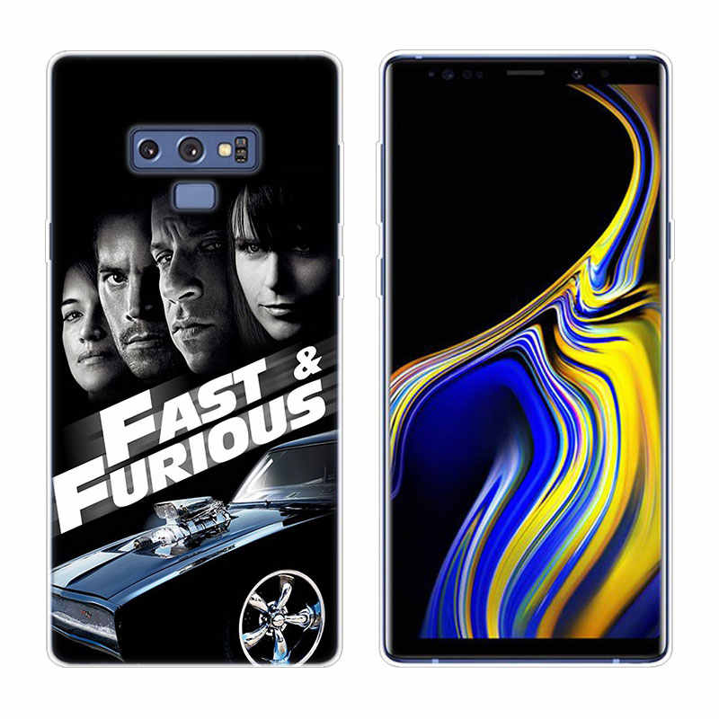 Étui en Silicone pour Samsung, rapide et Furious, Paul Walker, pour Galaxy A80, A70, A60, A50, A40, A40S, A30, A20E, A2CORE, M40, Note 10 Plus, 9, 8, ...
